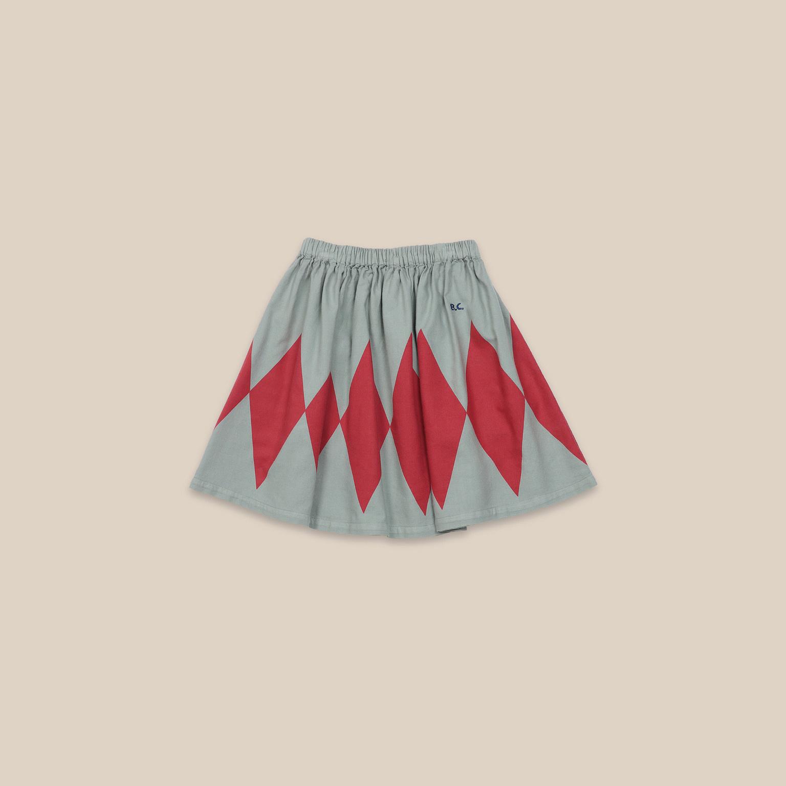 Diamond Woven Skirt-1