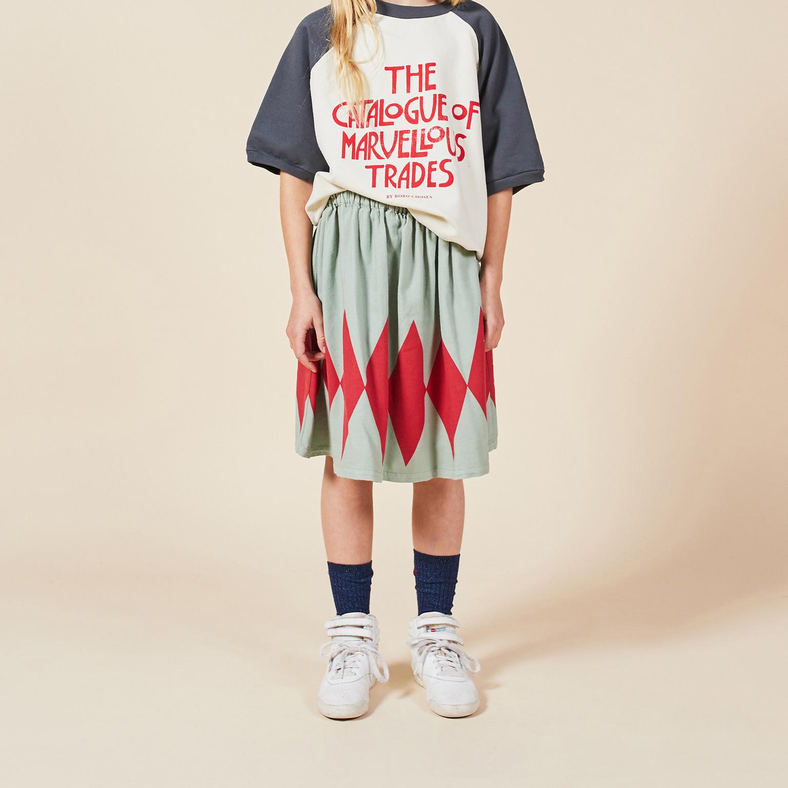 Diamond Woven Skirt-2