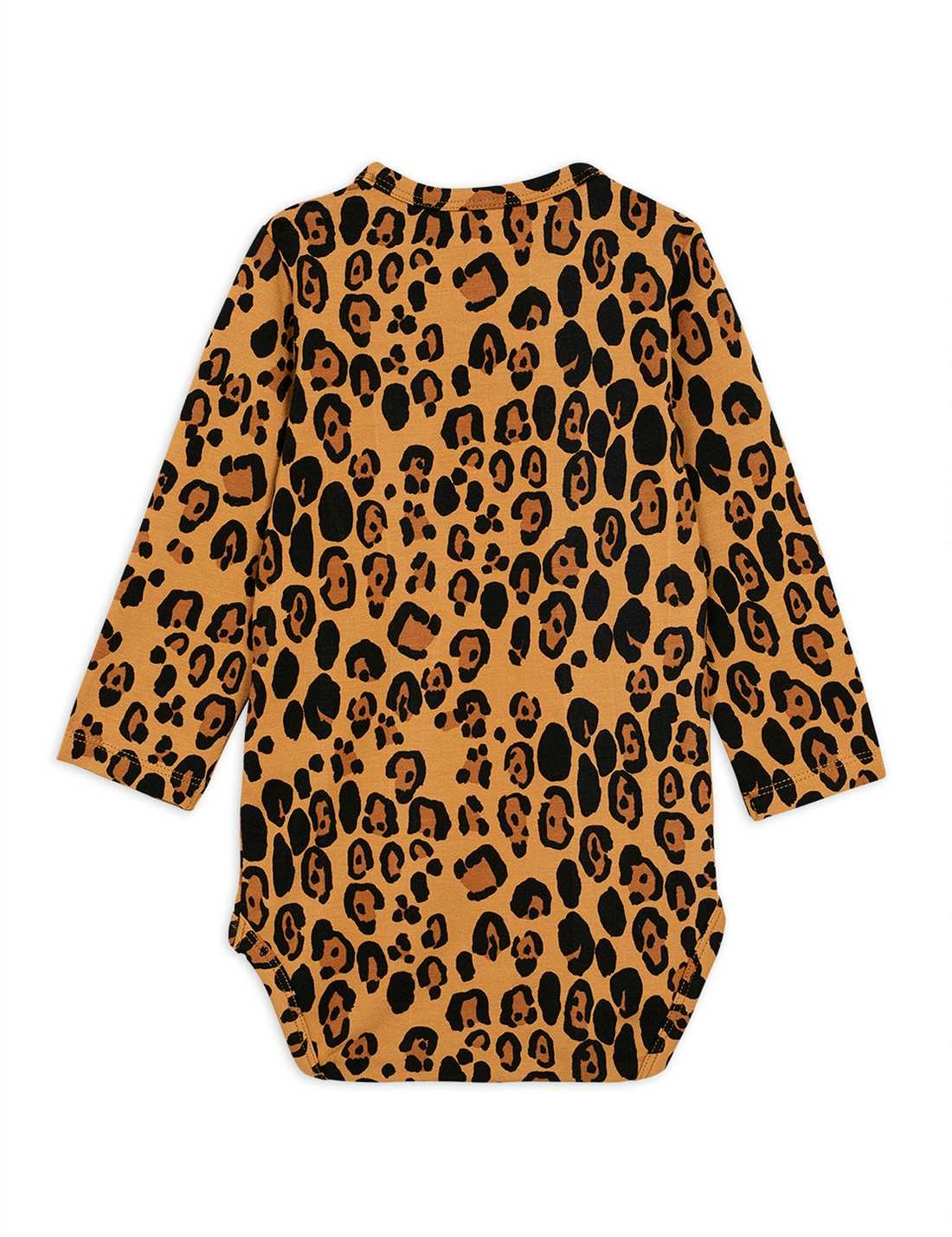 Basic Leopard l/sl body - Beige-2