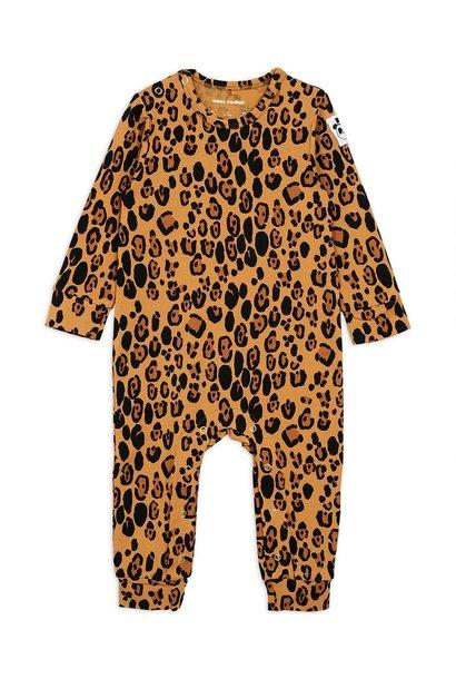Basic Leopard jumpsuit - Beige