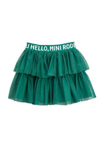 Tulle skirt - Green