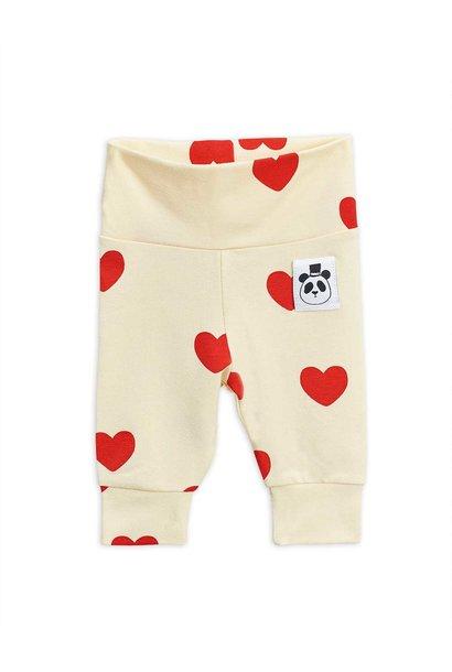 Hearts nb leggings - Offwhite