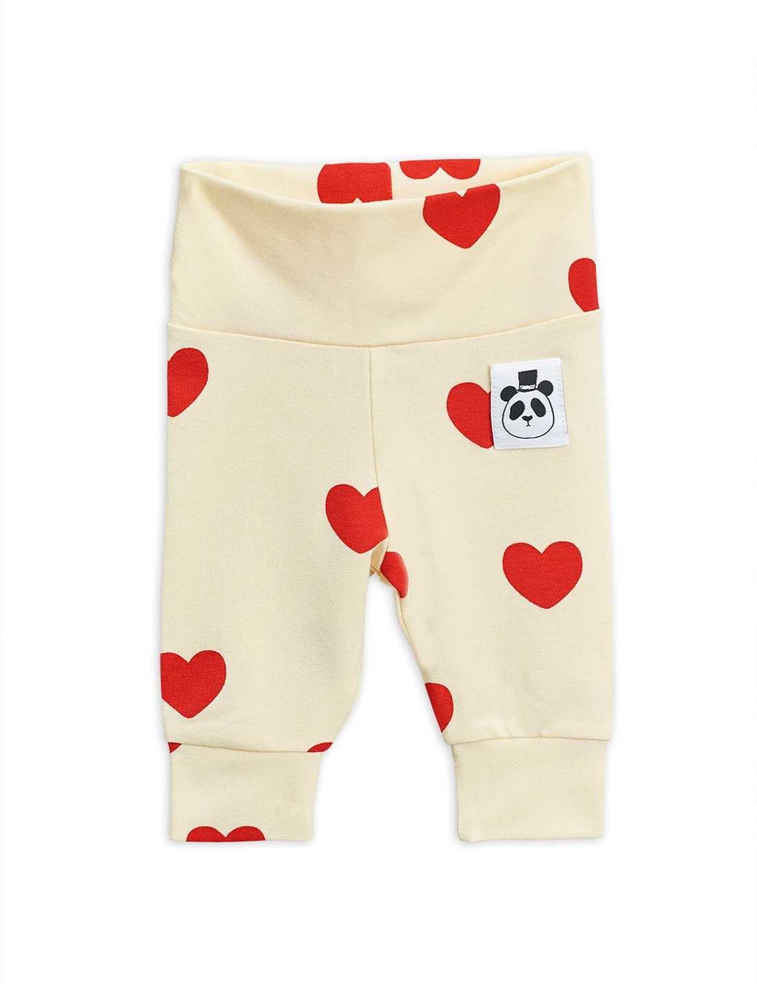 Hearts nb leggings - Offwhite-1