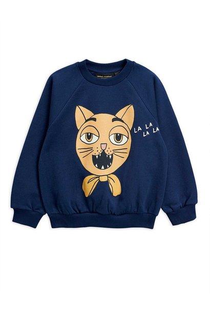 Cat choir sp sweatshirt - Navy