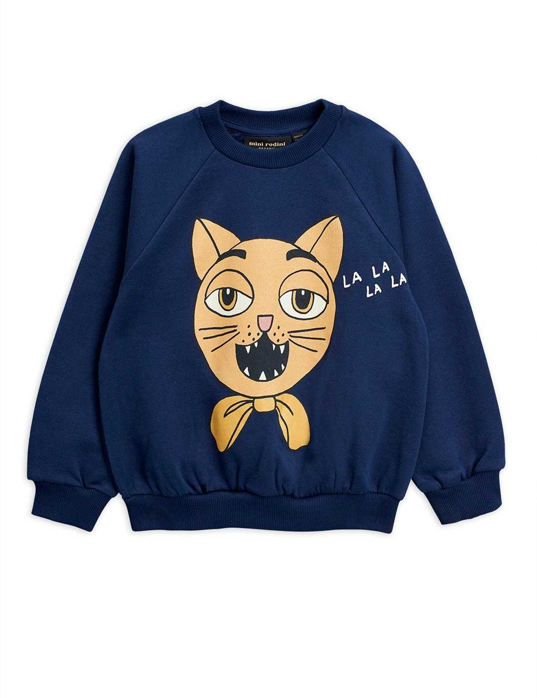 Cat choir sp sweatshirt - Navy-1