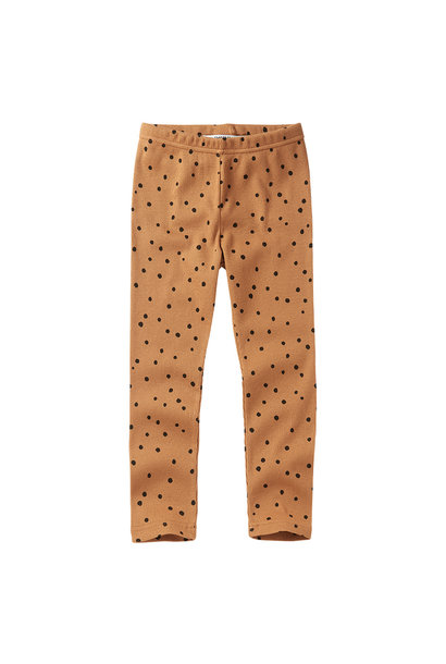 Legging - Dots Caramel / Black