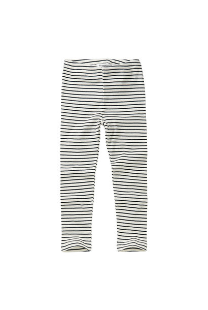 Legging - Stripes Black / White