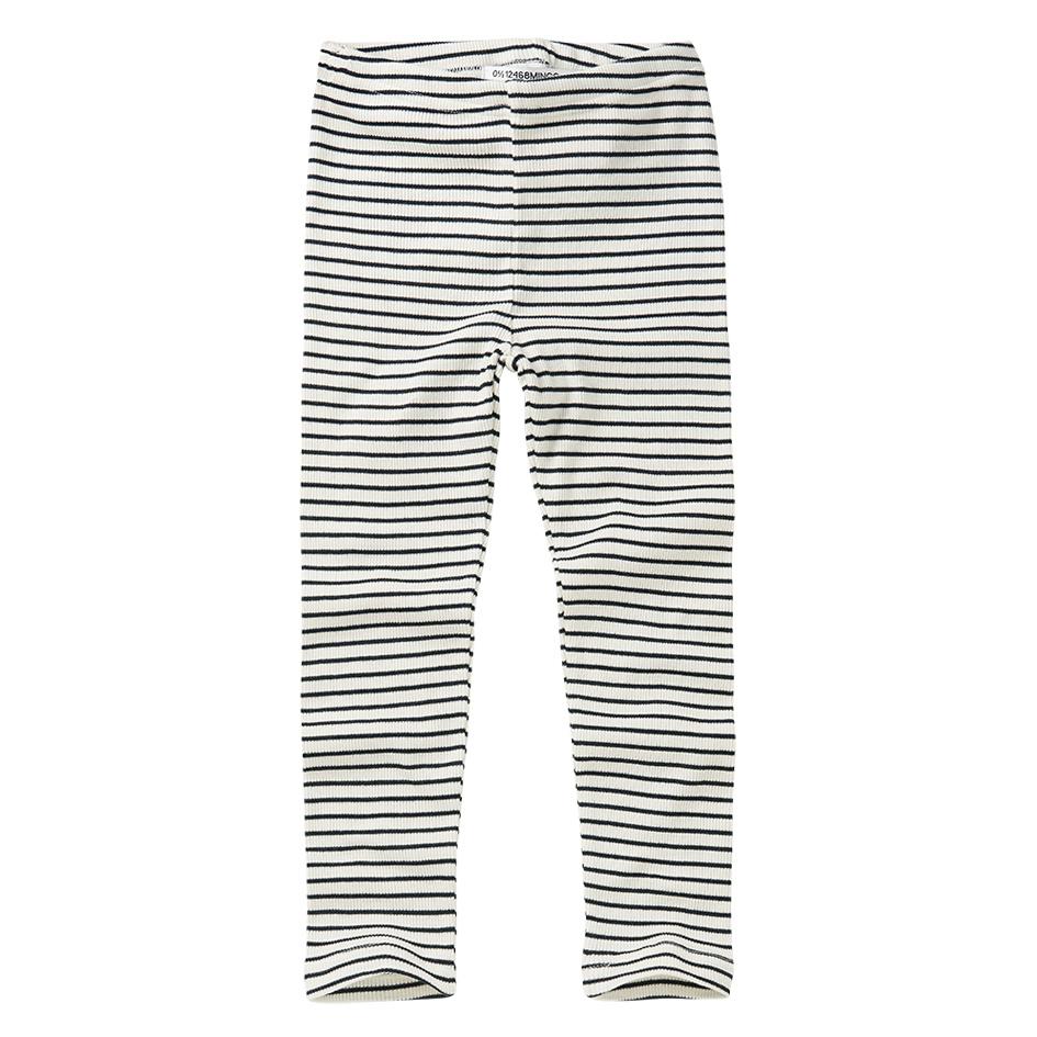 Legging - Stripes Black / White-1