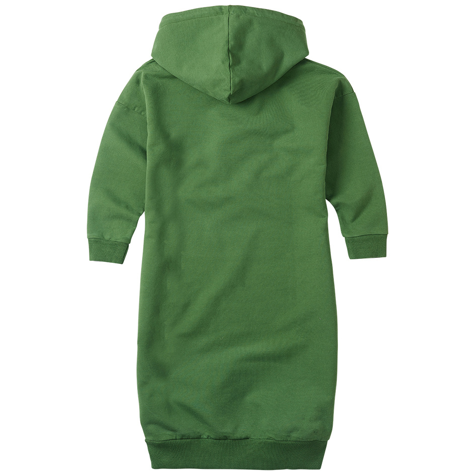 Sweater dress hoodie - Moss Green-3