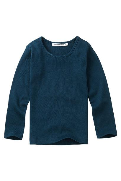 Rib top - Teal Blue