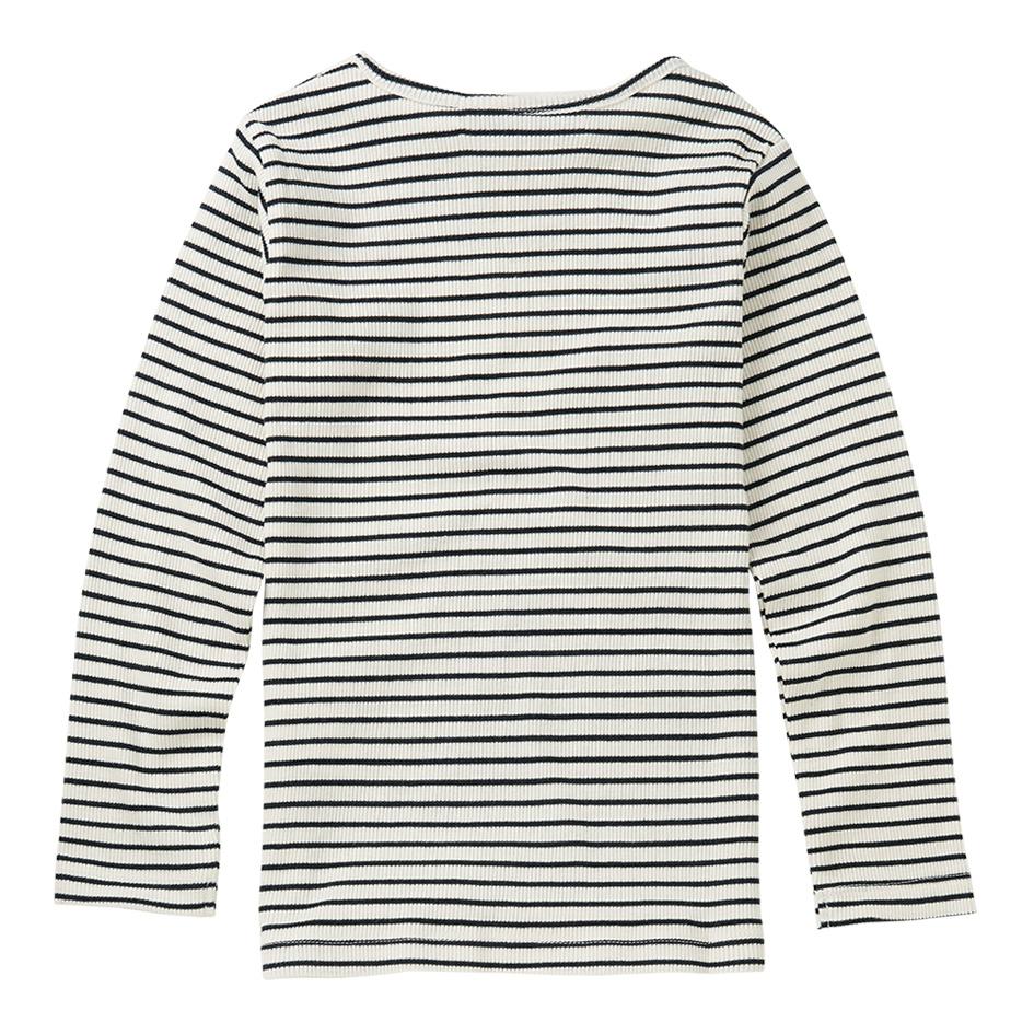 Rib top - Stripes Black / White-2