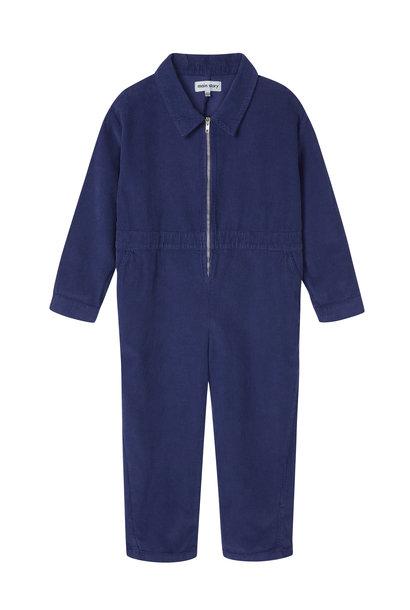 Overalls - Marine Blue