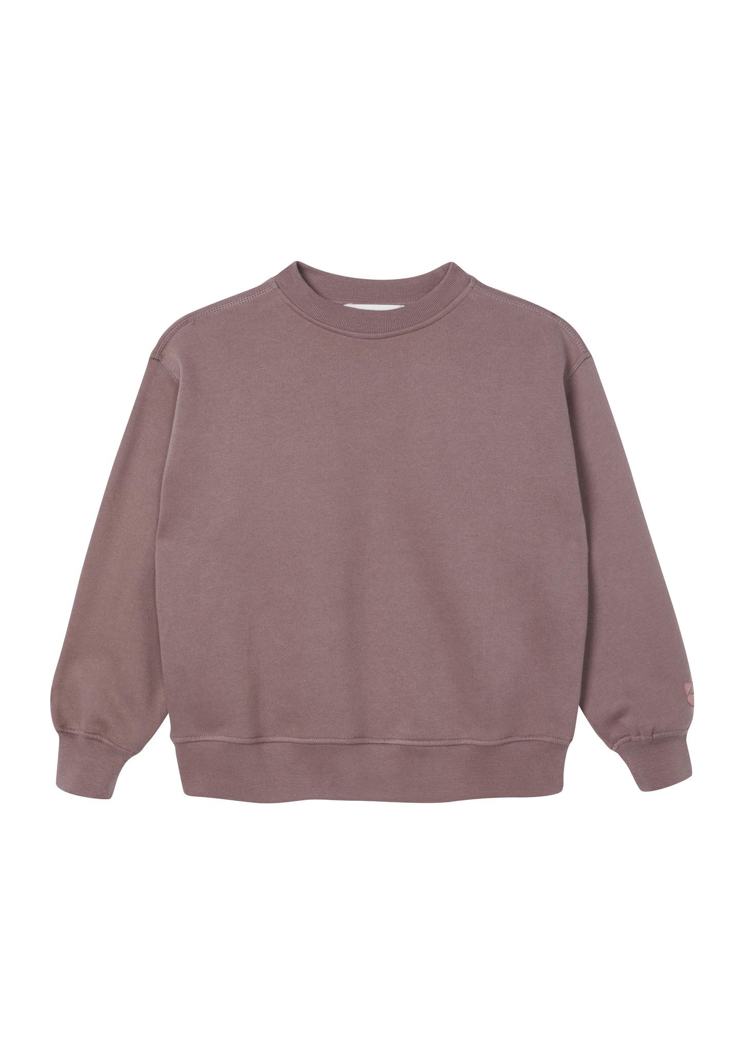 Oversized Sweatshirt - Rose Taupe-1
