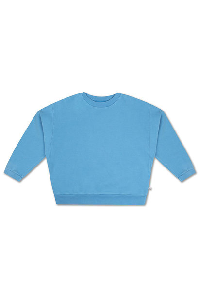 Crewneck sweater - Bright Sky Blue