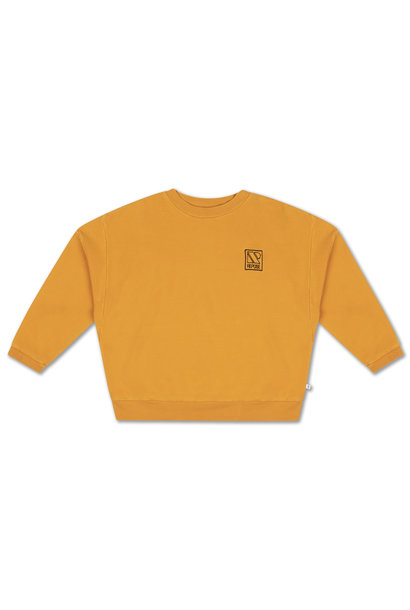 Crewneck sweater - Radiant Yellow