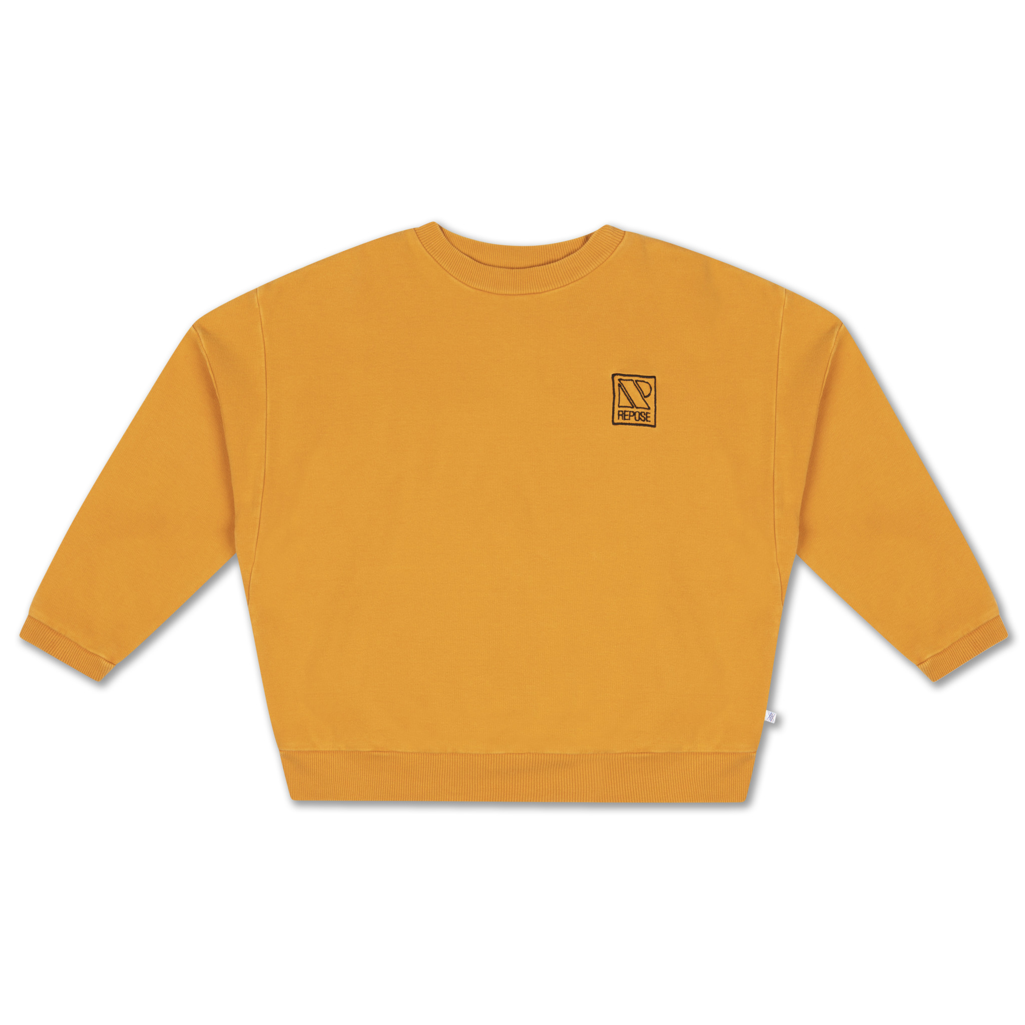 Crewneck sweater - Radiant Yellow-1