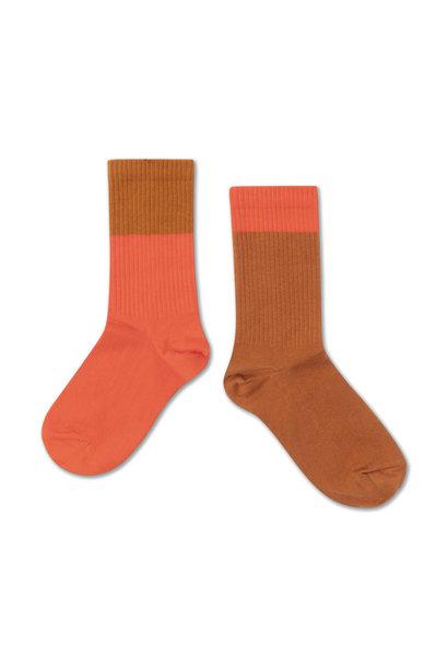 Socks - Vibrant Red / Autumn