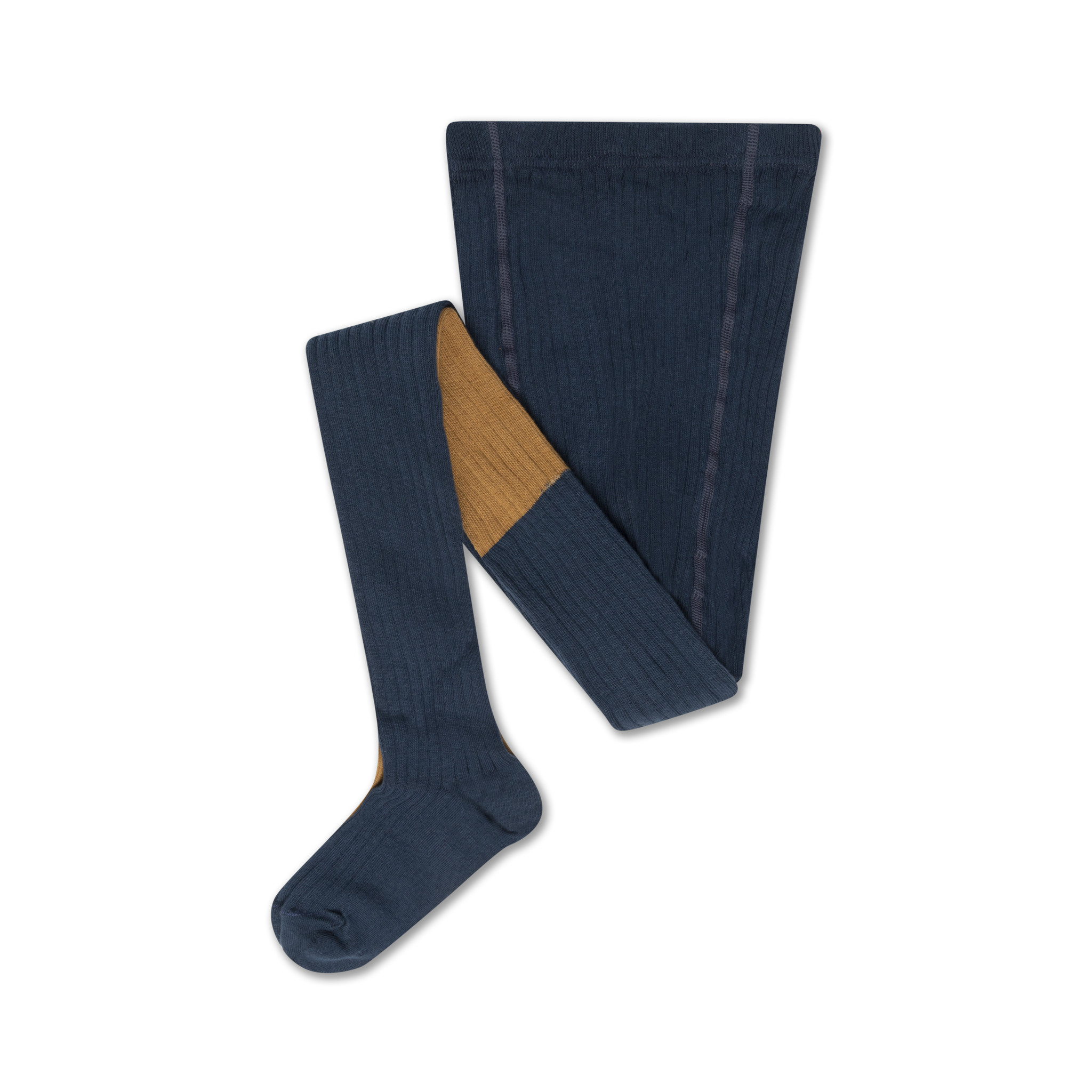 Tights - Navy Blue / Golden-1