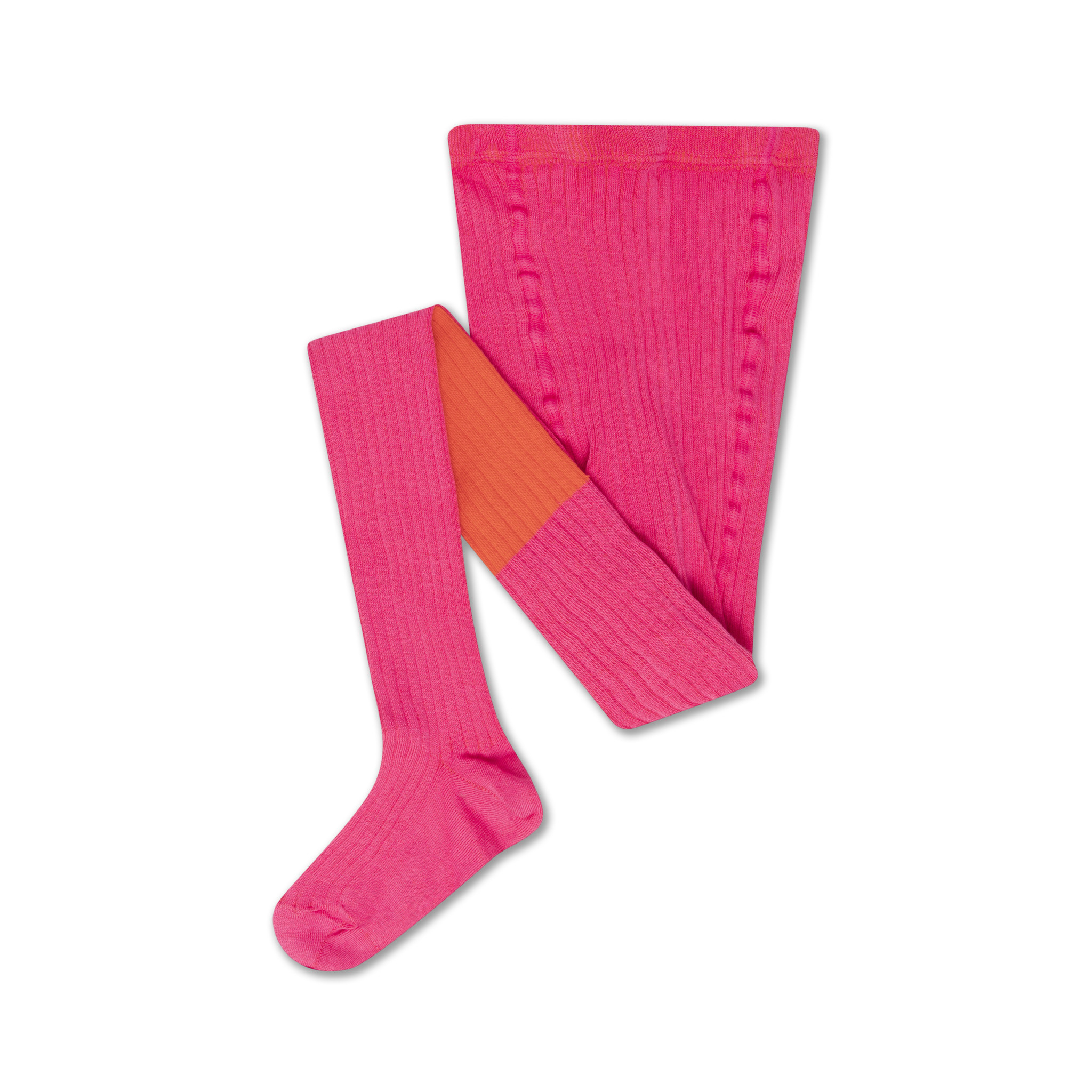 Tights - Hot Pink / Firy Red-1