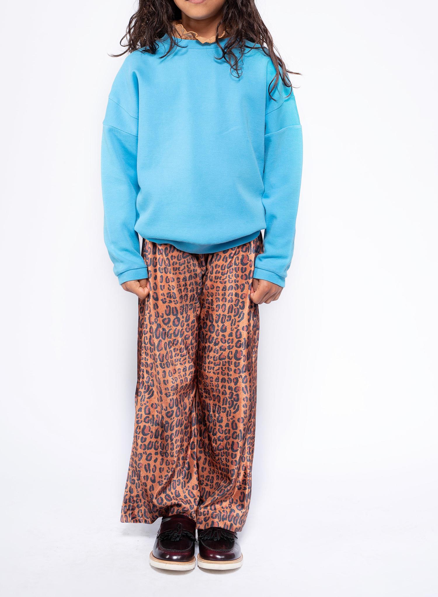 Crewneck sweater - Bright Sky Blue-3
