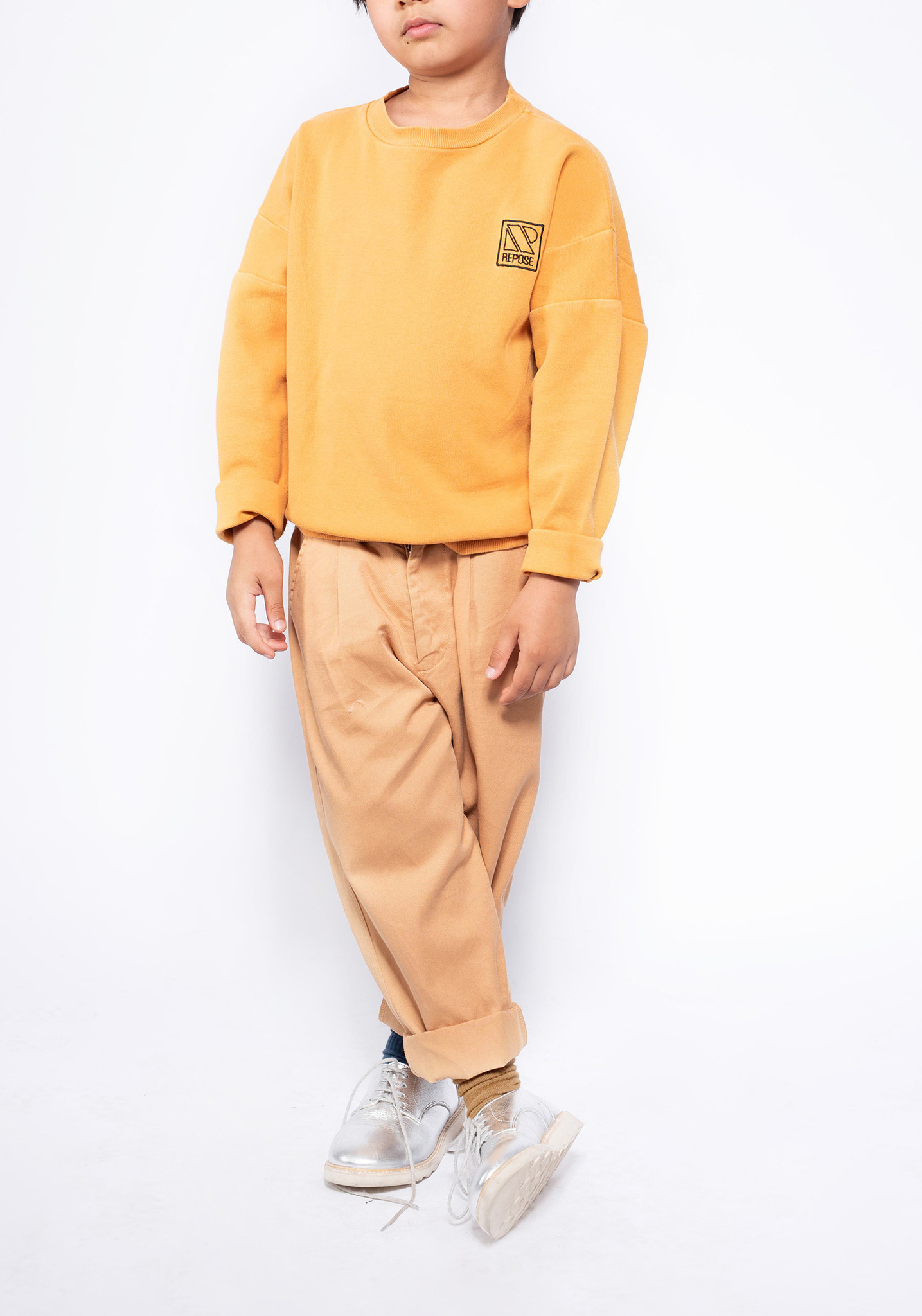 Crewneck sweater - Radiant Yellow-3