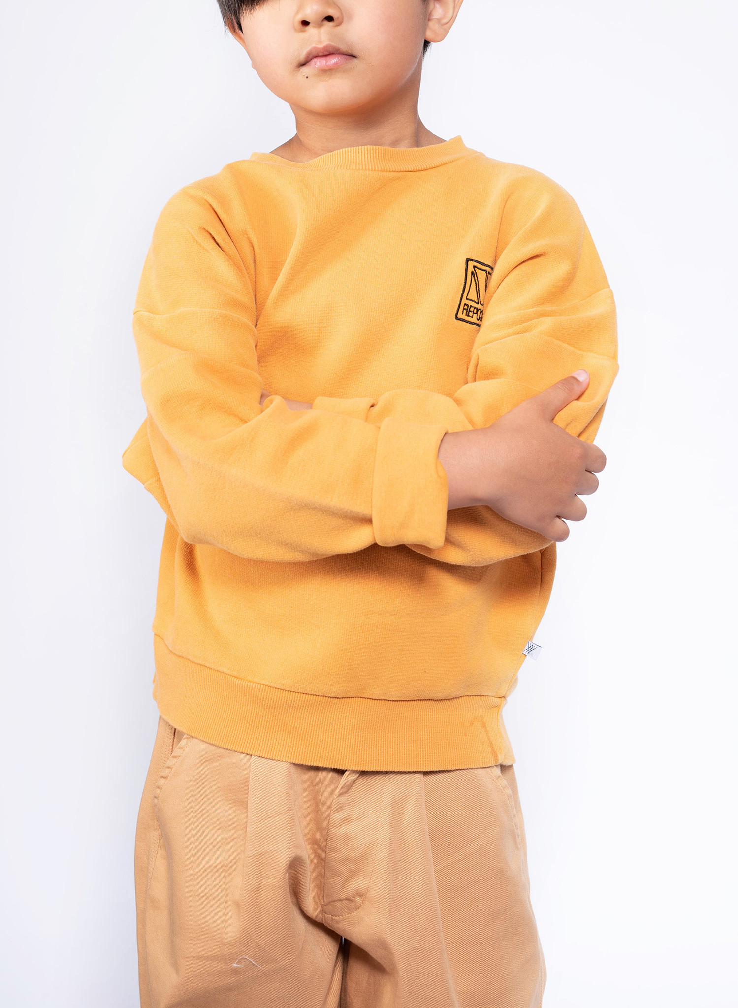 Crewneck sweater - Radiant Yellow-2