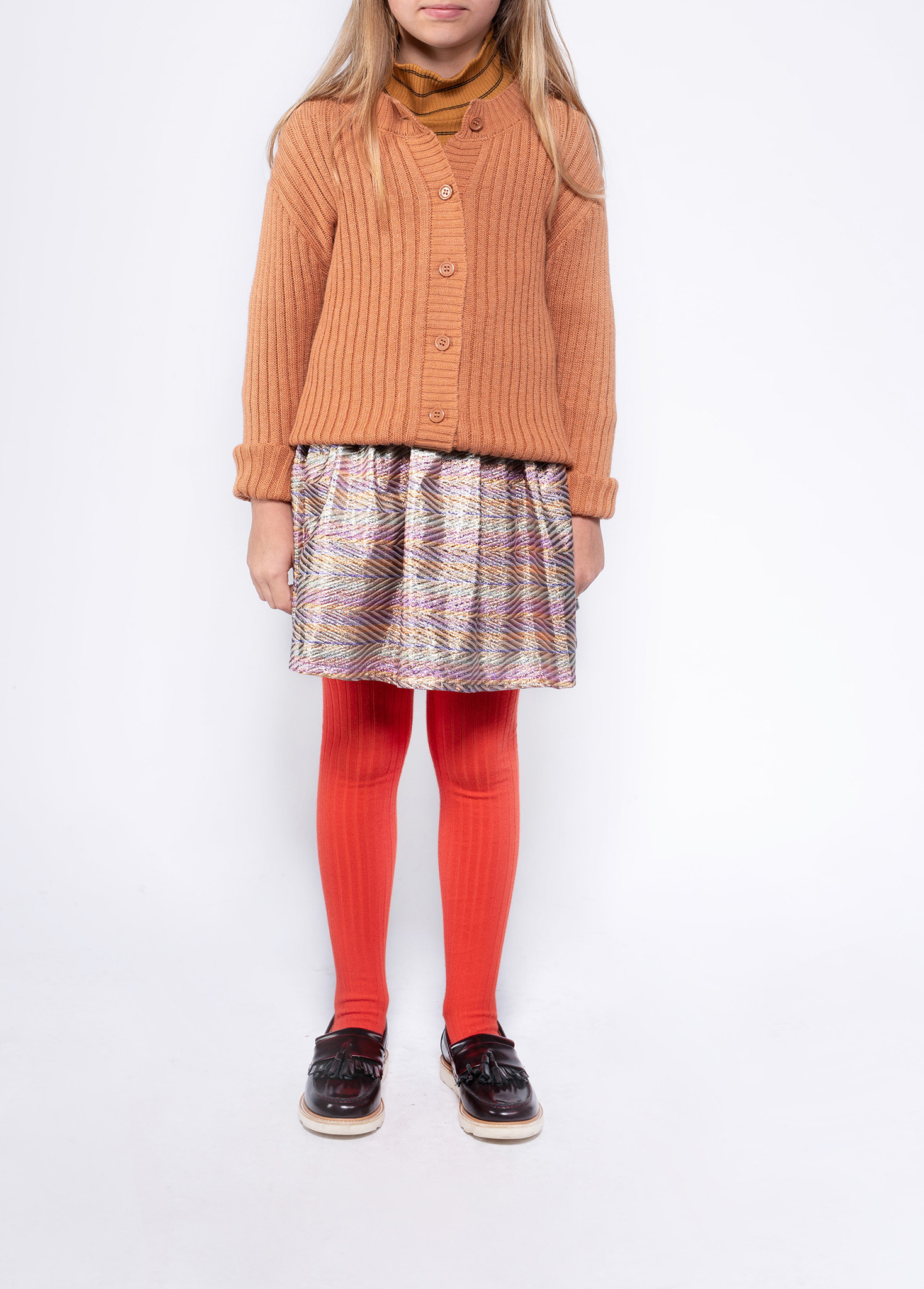 Tights - Firy Red-2
