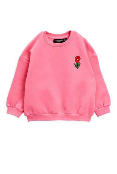 Viola emb sweatshirt - Pink