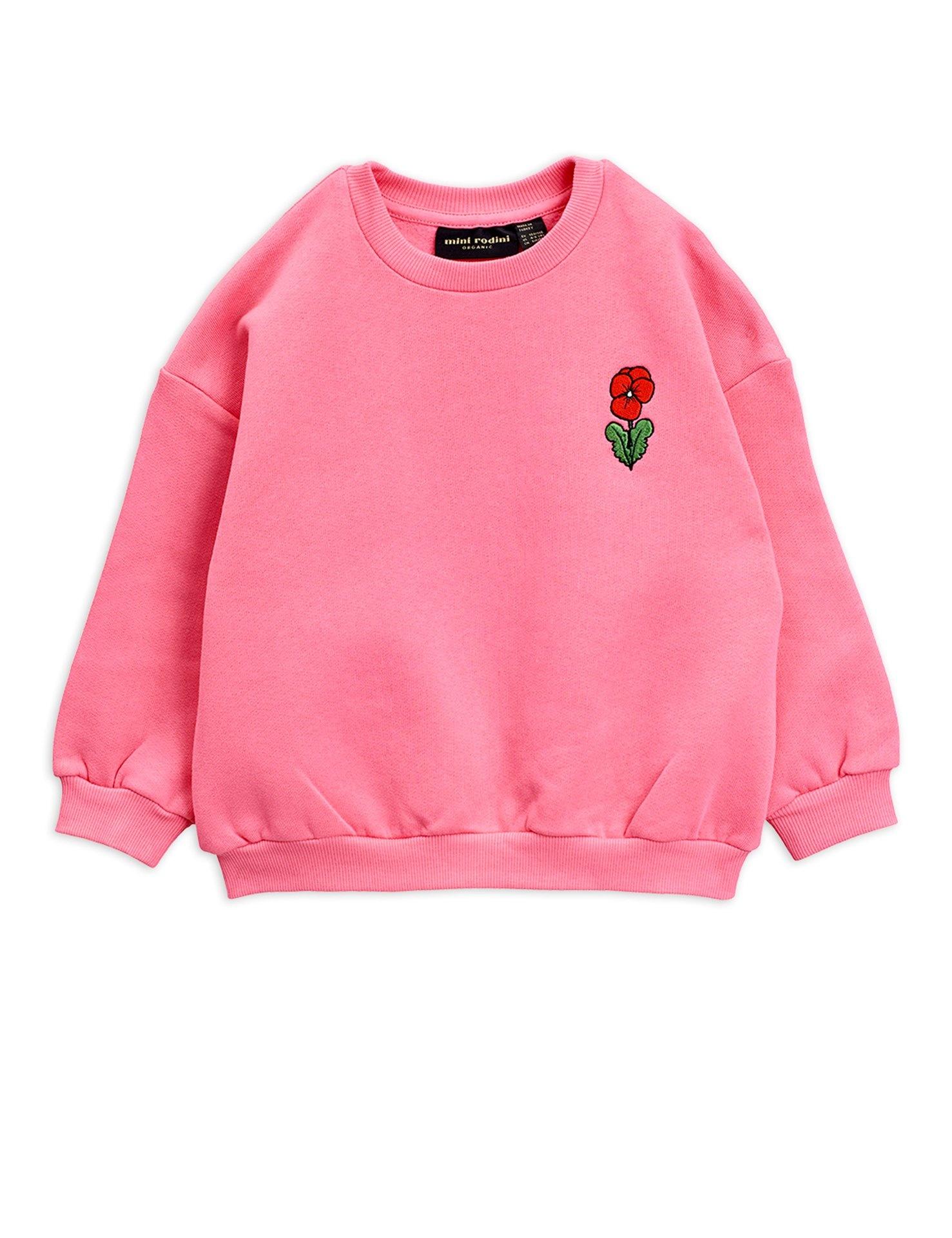 Viola emb sweatshirt - Pink-1