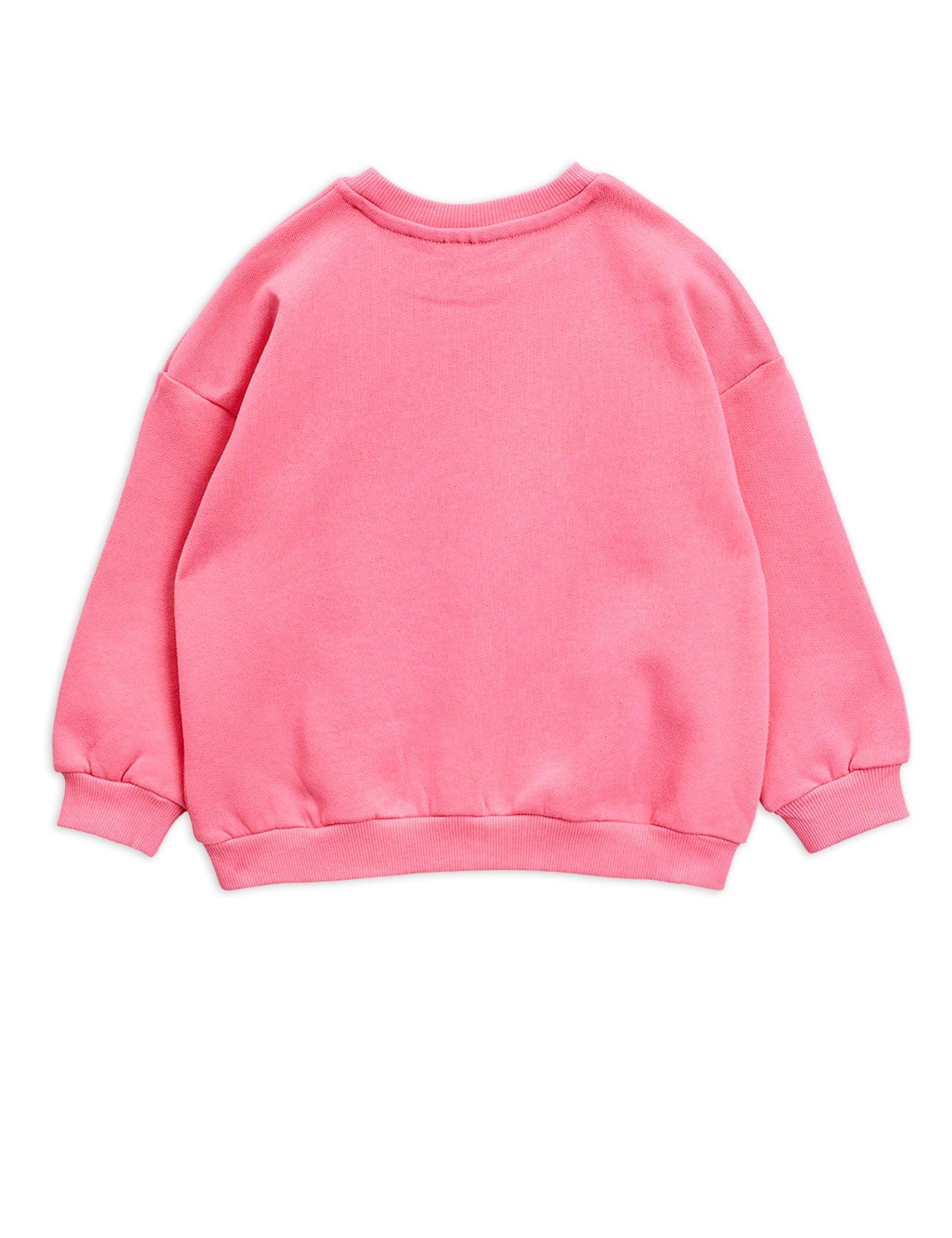 Viola emb sweatshirt - Pink-3