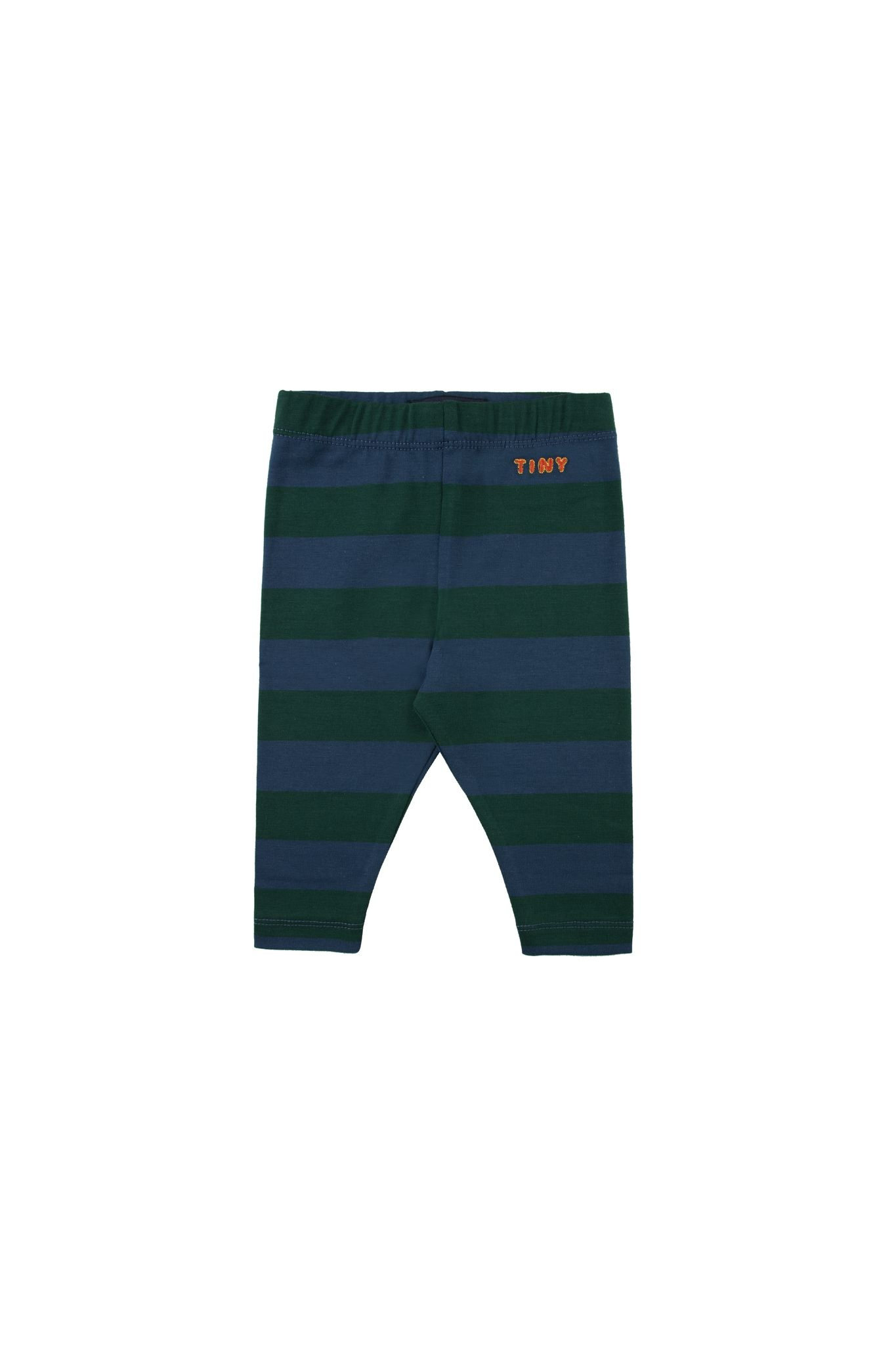Tiny Stripes pant - Dark Green / Light Navy-1