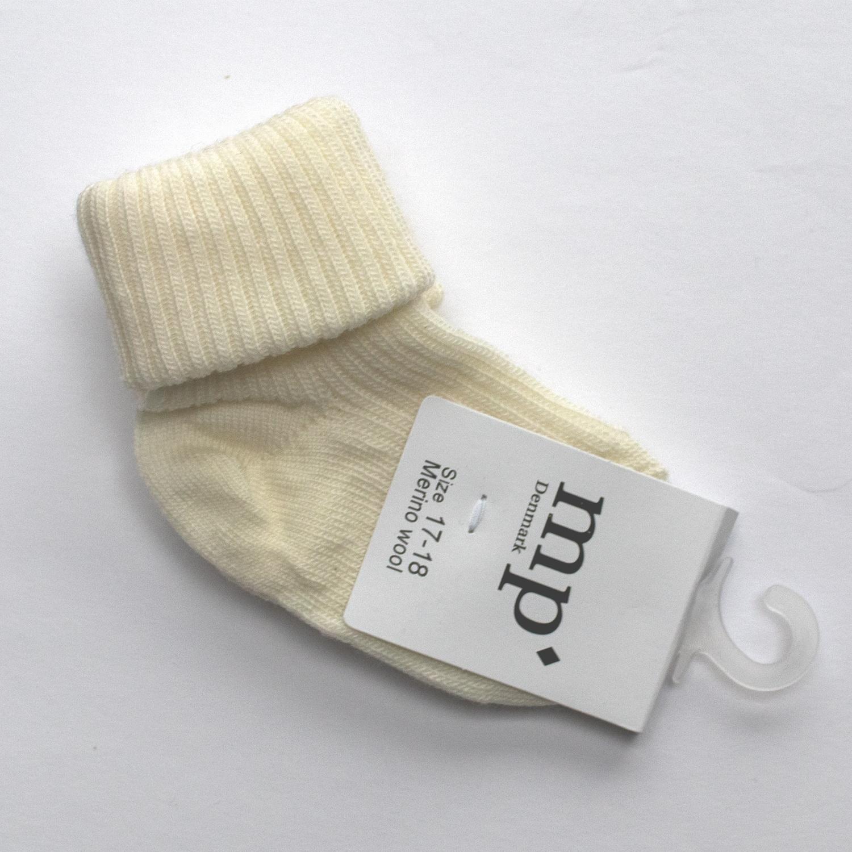 Baby sokken - Ecru-1