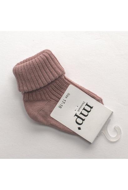 Baby sokken - Oud Roze