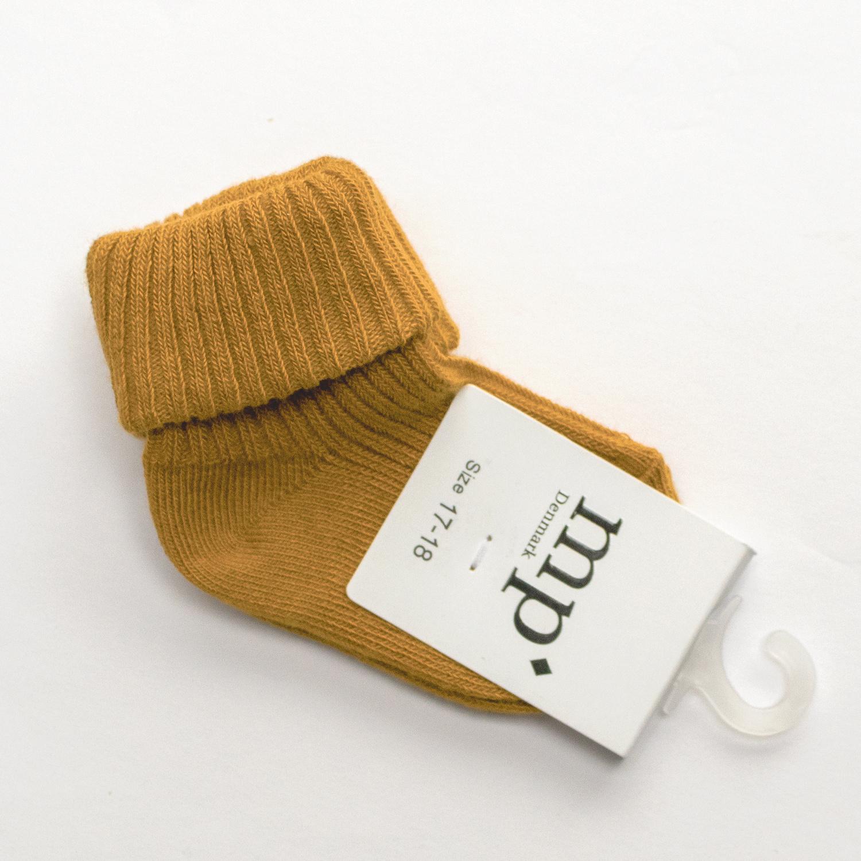 Baby sokken - Oker-1