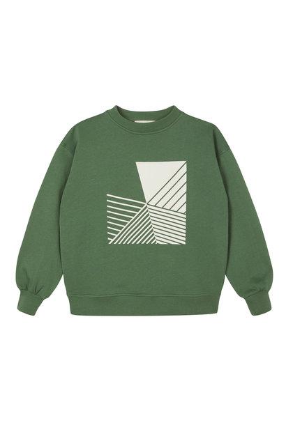 Oversized Sweatshirt - Duck Green