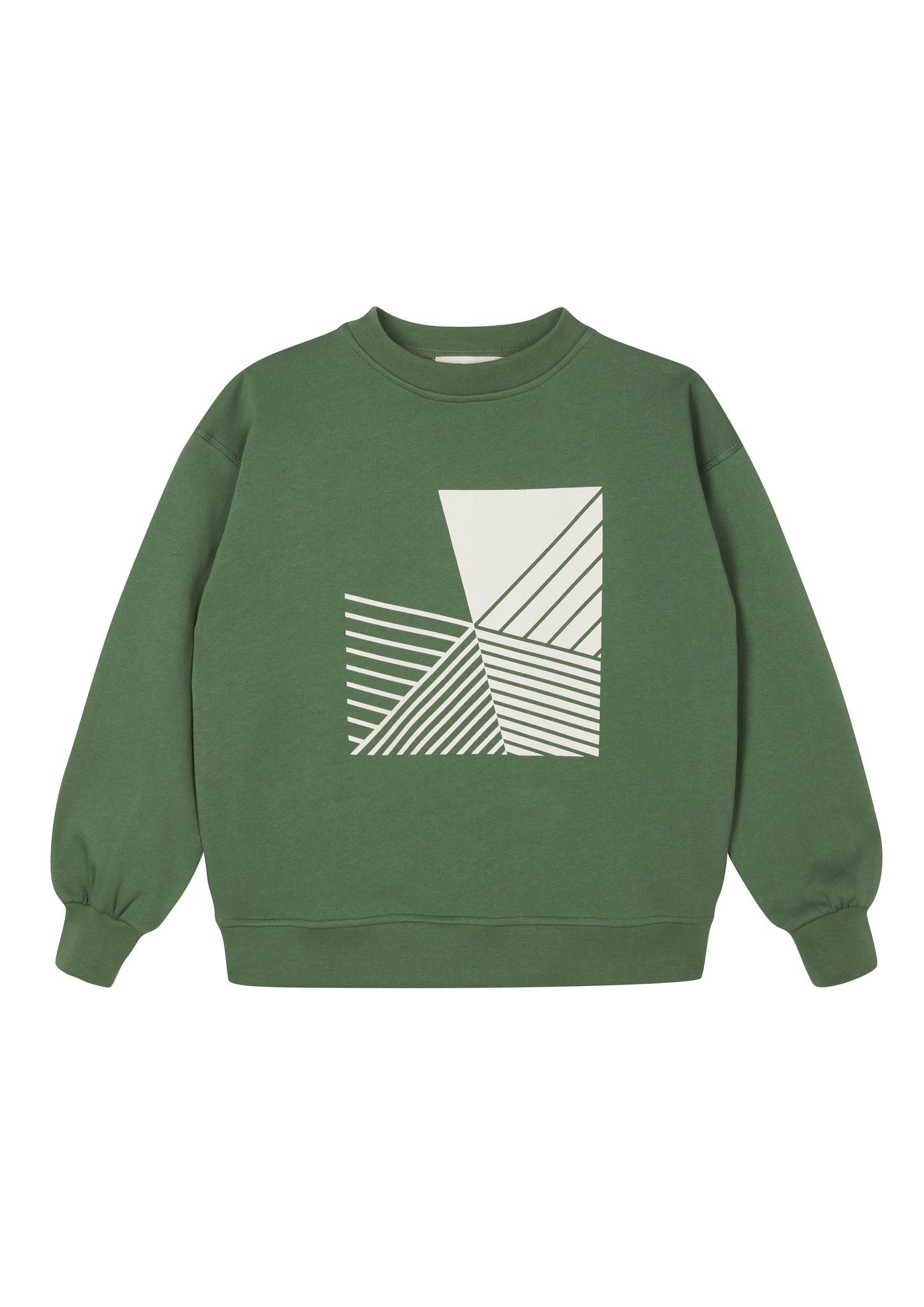 Oversized Sweatshirt - Duck Green-1