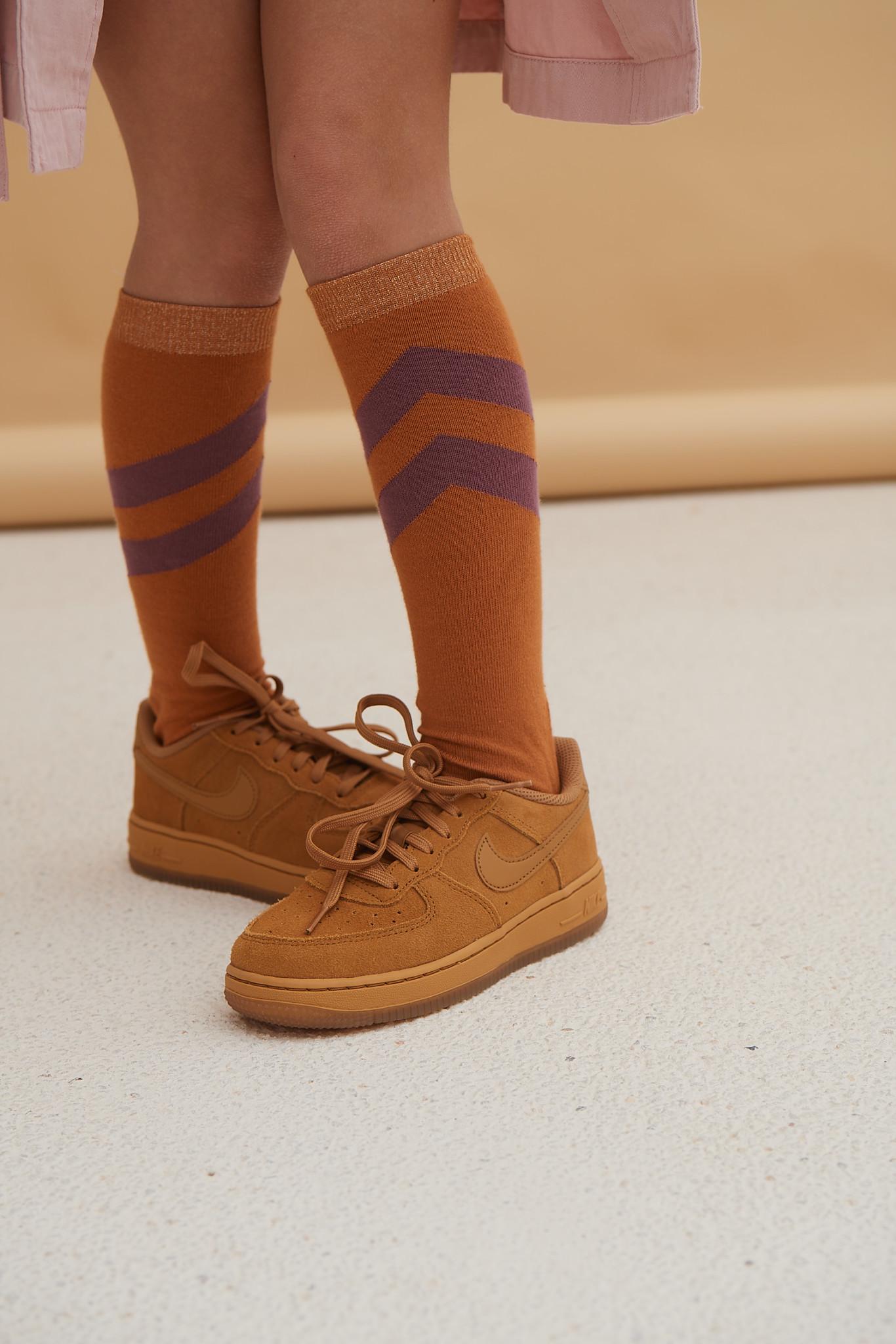 Striped socks - Inca Gold-2