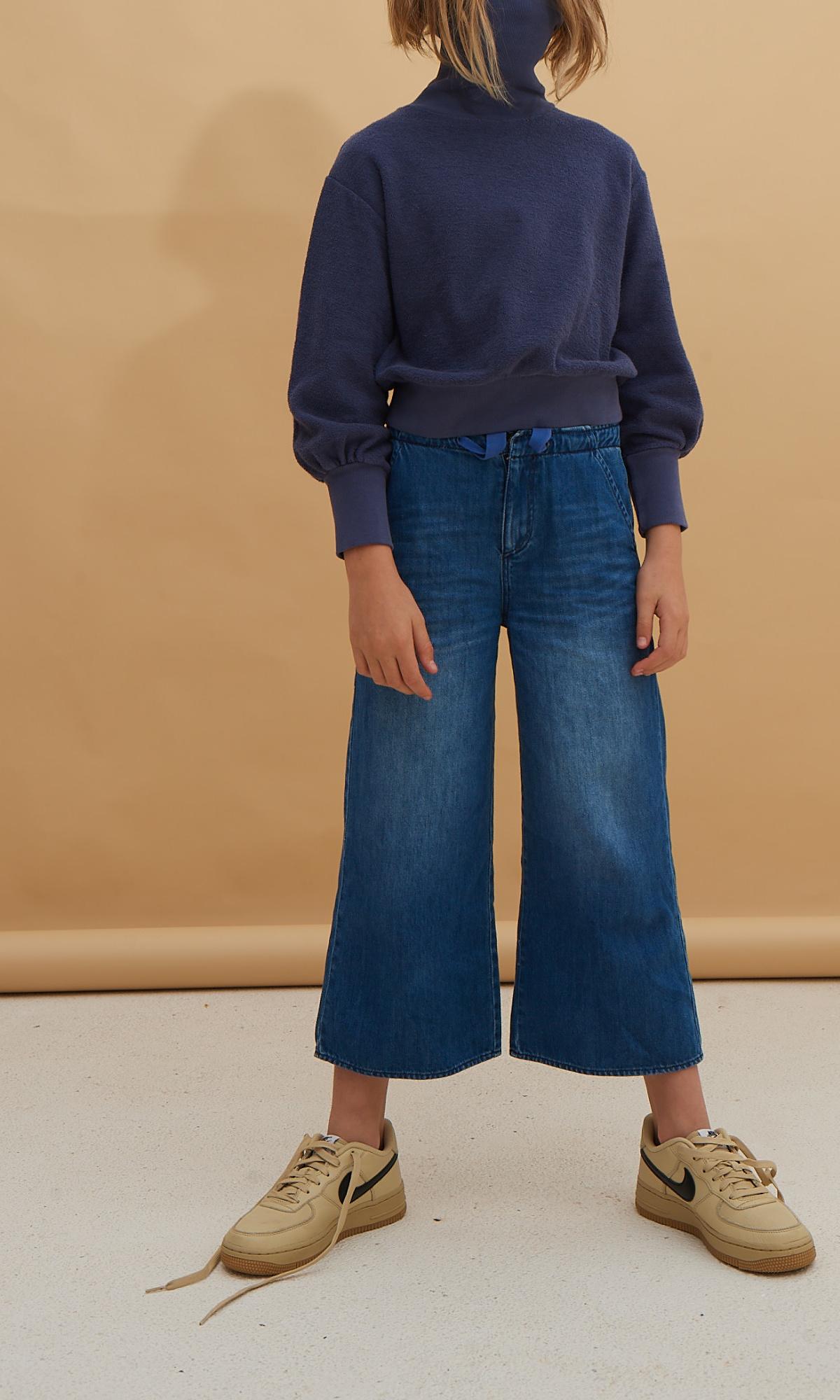 Denim trousers - Blue Denim-2