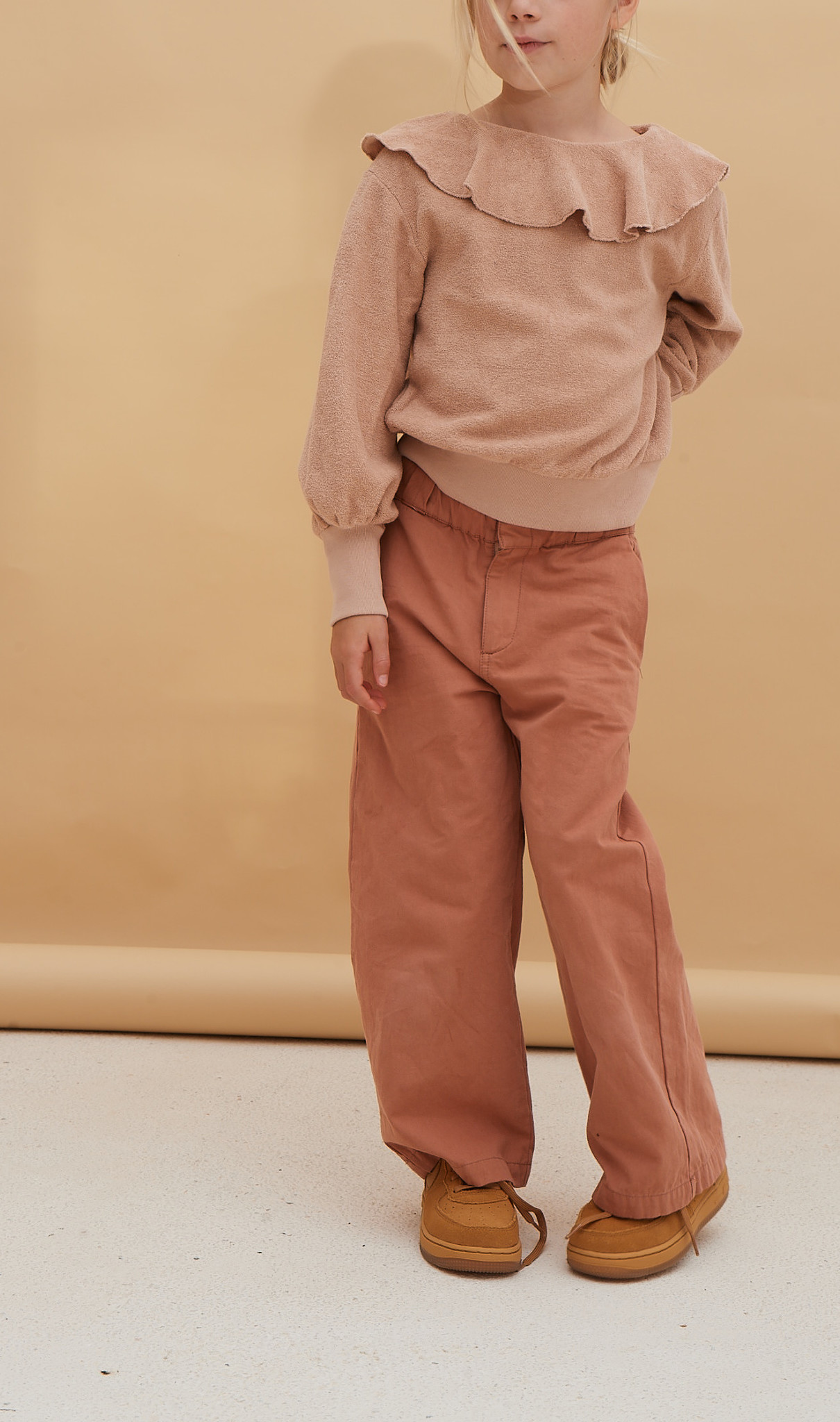 Canvas pants - Red Dust-2