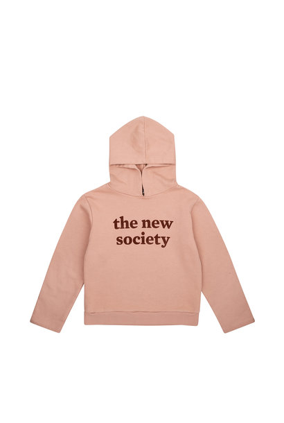 The New Society Flock sweater - Blush