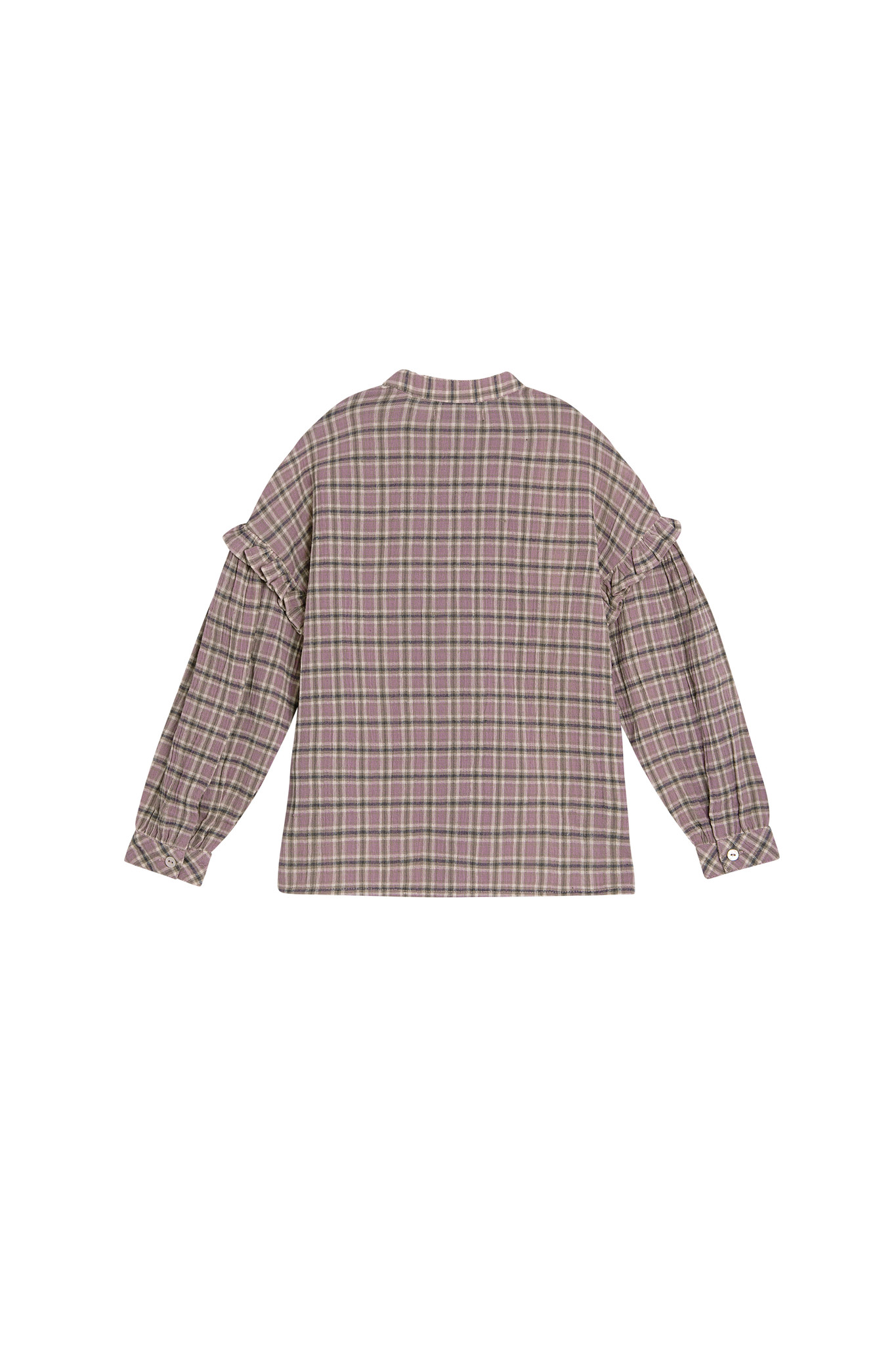 Bella blouse - Check Lavanda-2