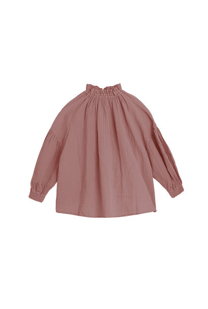 Olivia blouse - Rose Taupe