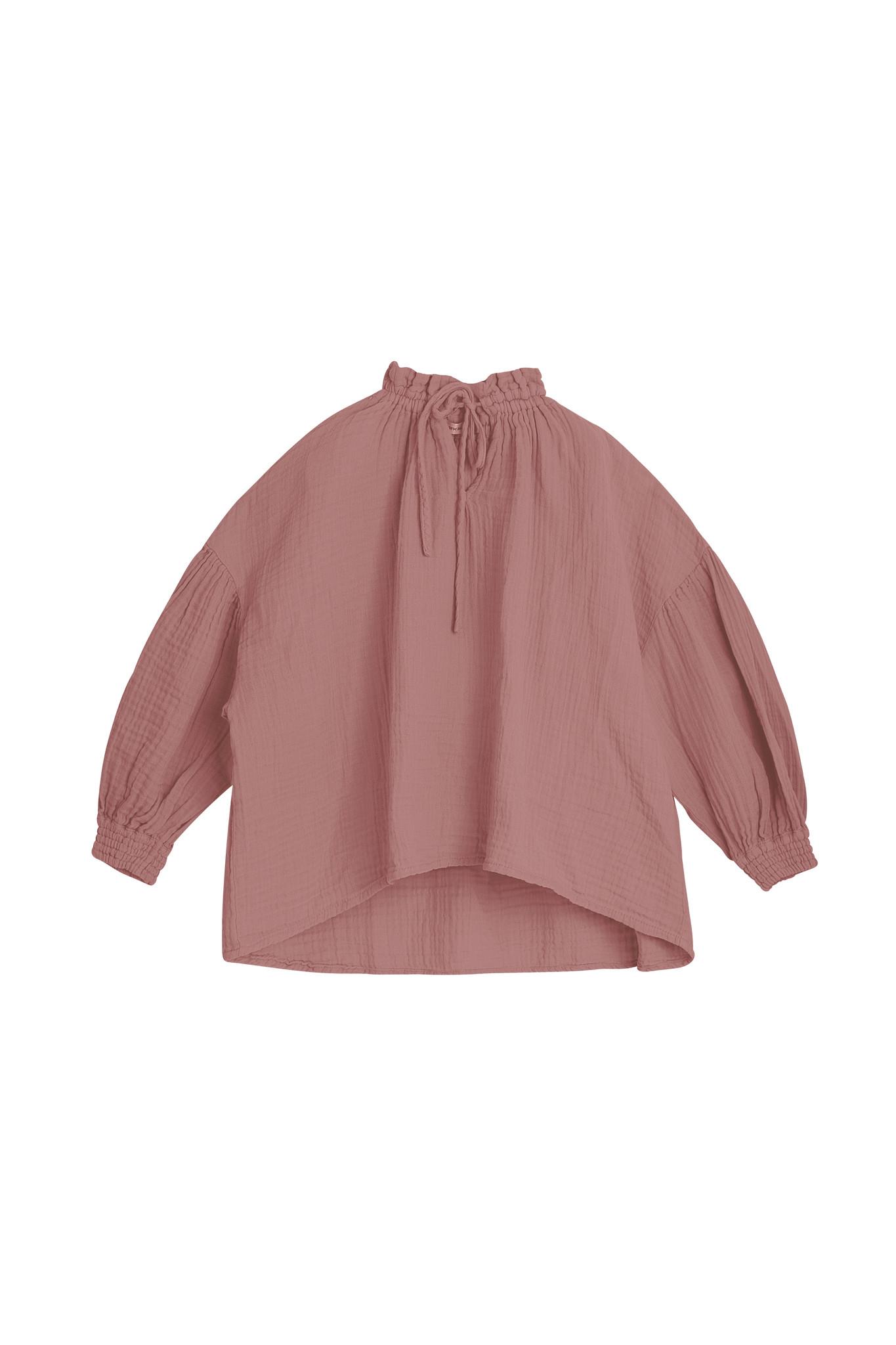 Olivia blouse - Rose Taupe-2