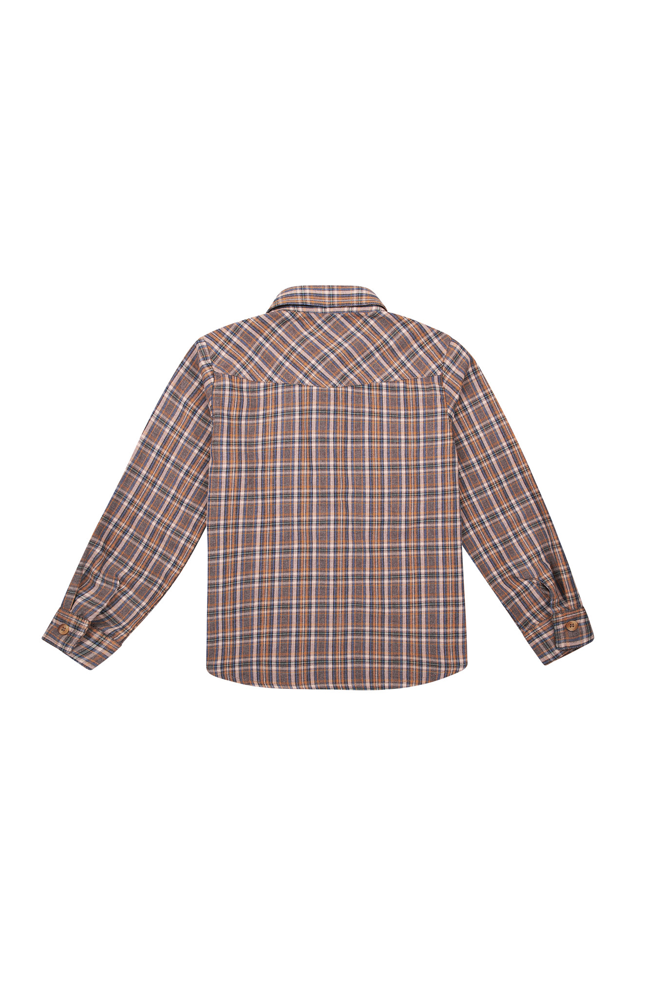 Milosh shirt - Check Soft Blue-2