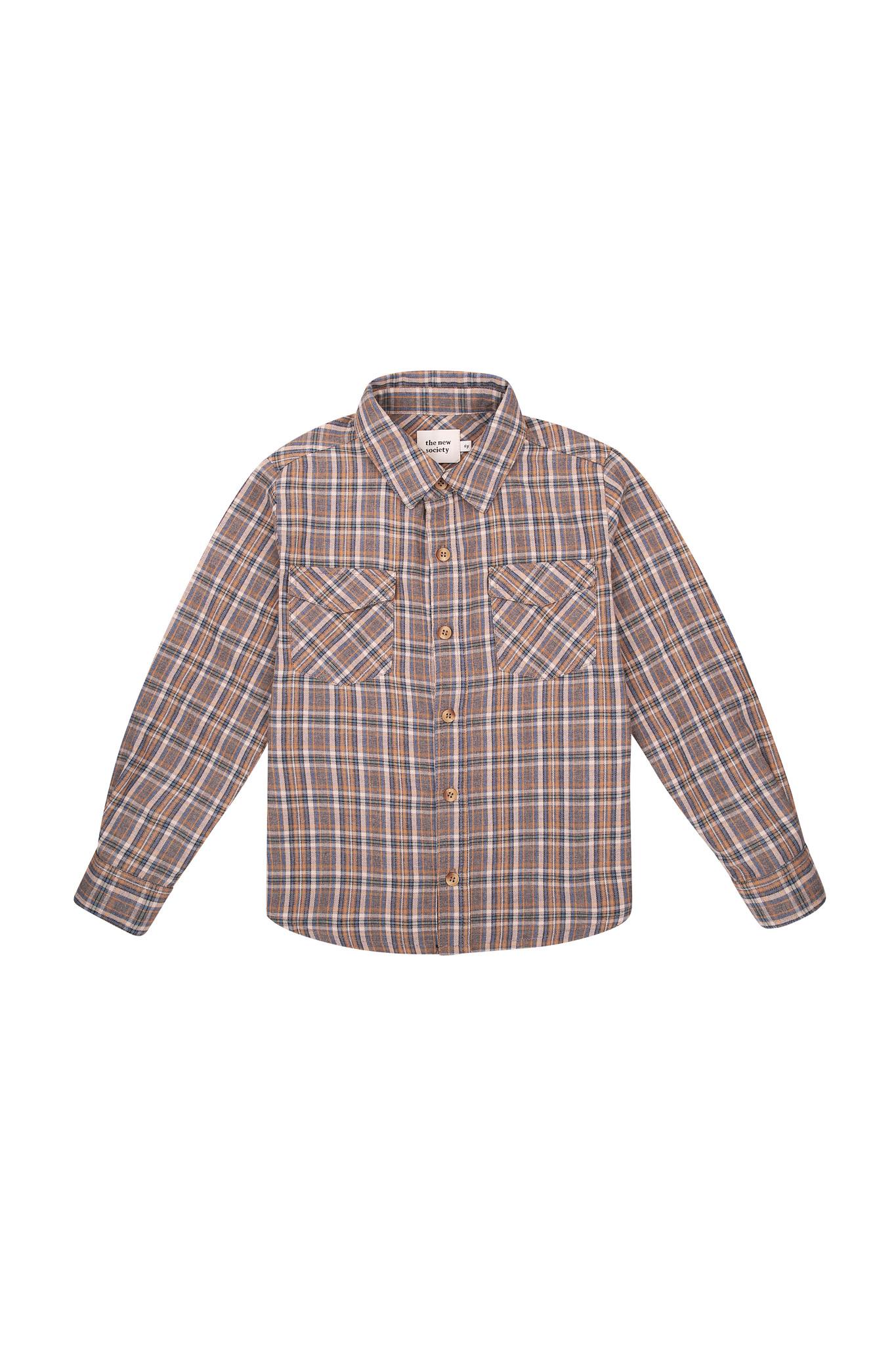 Milosh shirt - Check Soft Blue-1
