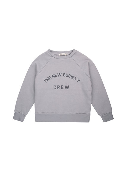 The New Society Crew sweater - Soft Blue
