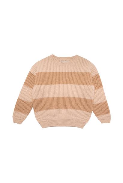 Ian sweater - Blush