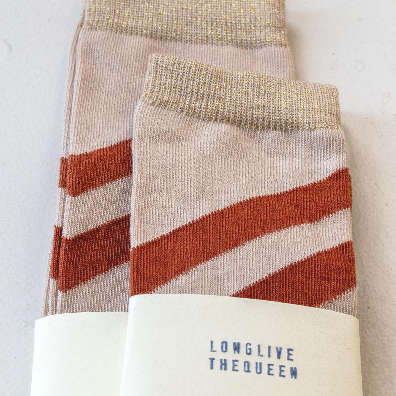 Striped socks - Natural-3