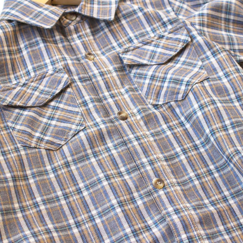 Milosh shirt - Check Soft Blue-3