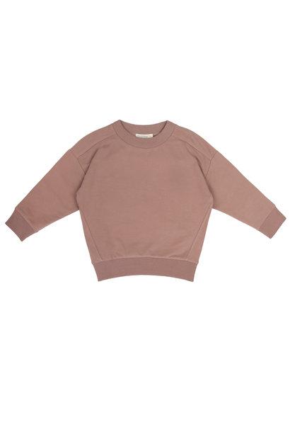 Oversized sweater - Powder